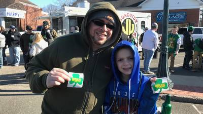 WBAB @ East Islip St. Patrick's Day Parade 3/1