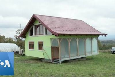 WATCH: Man Builds Rotating House To Give Wife Better Views