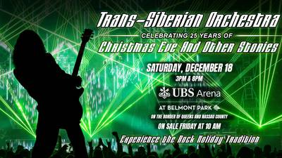 Trans-Siberian Orchestra Are Coming to The New UBS Arena at Belmont Park!