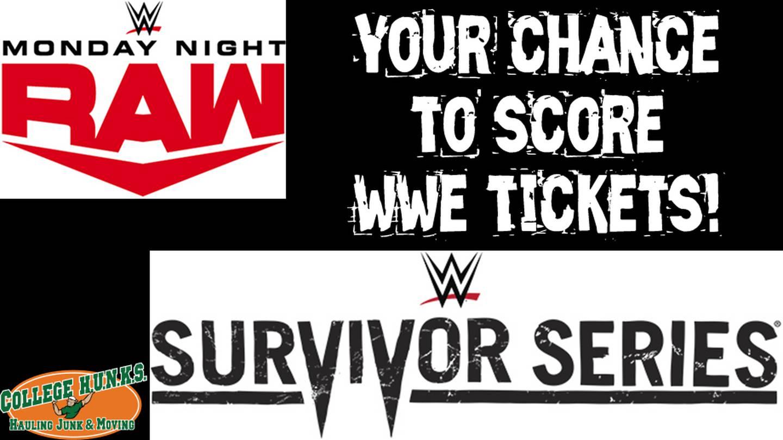 Win On The App Wednesday: Win WWE Tickets