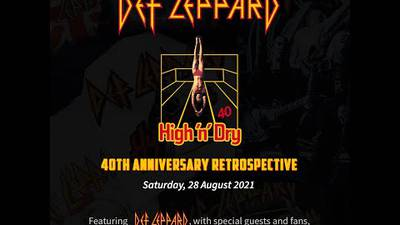 """Watch Preview Of Def Leppard """"High N' Dry"""" Anniversary Livestream Event"""