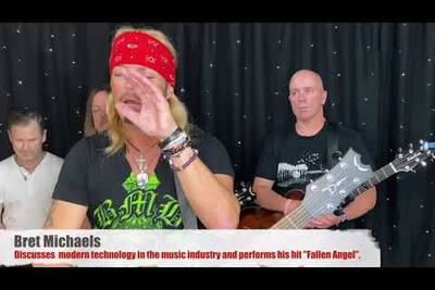 """Watch Bret Michaels Music Monday Performance For This Week """"Fallen Angel"""" Acoustic"""