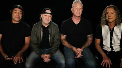 """738 days later...Metallica play """"secret"""" hometown show in San Francisco"""