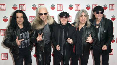 Watch Scorpions Jamming On A New Song In The Studio