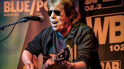 PHOTOS: WBAB's Acoustic Session with George Thorogood