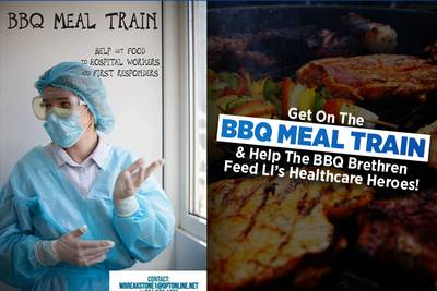 Help The BBQ Brethren Feed LI's Healthcare Heroes!