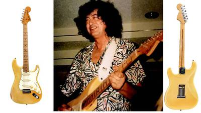 You Can Own A Fender Strat That Jimmy Page Owned And Played