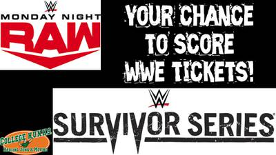 Win On The App Wednesday: Tickets for WWE Survivor Series AND Monday Night Raw at Barclays Center!