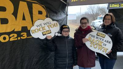 WBAB @ Town Of Brookhaven Groundhog Day 2/2