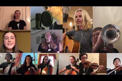 Watch Tommy Shaw Perform Socially Distanced Version Of A Styx Classic With Cleveland's Contemporary Youth Orchestra