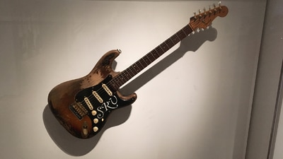 On The Anniversary Of Stevie Ray Vaughan's Passing Watch An Up Close Look At His #1 Guitar