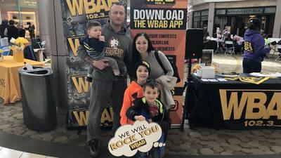 WBAB @ American Cancer Society's Wellness Festival 2/9